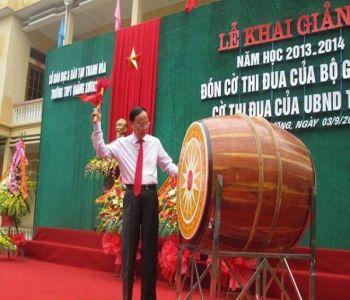 Nam Sơn Trống Đọi chuyên cung cấp trống trường học giá rẻ