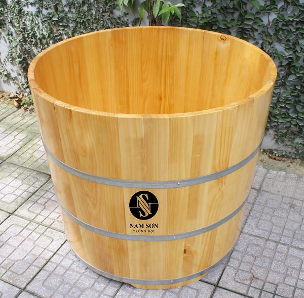 Mẫu bồn tắm tròn thông dụng tại Nam Sơn Trống Đọi
